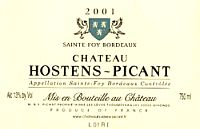 Ch. Hostens-Picant