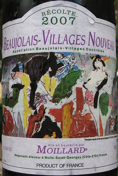 Moillard Beaujolais-Villages Nouveau 2007