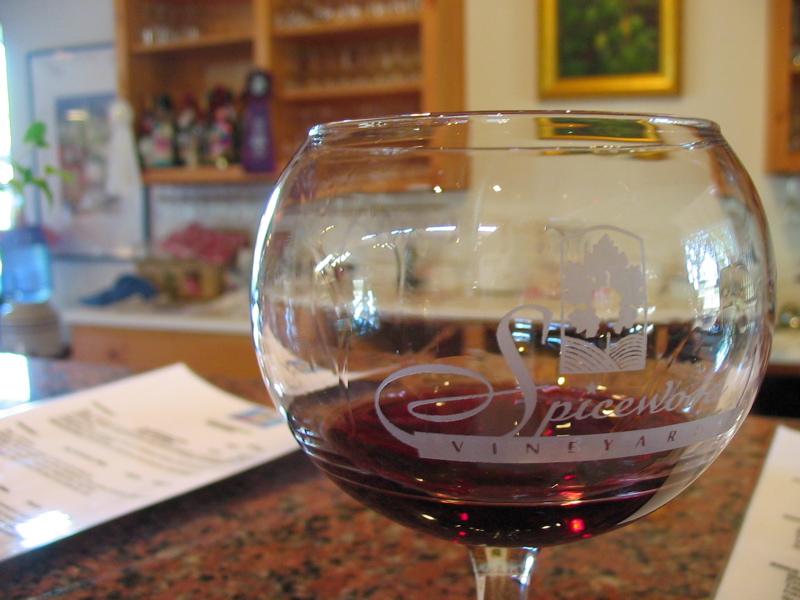 Spicewood Wine Glass